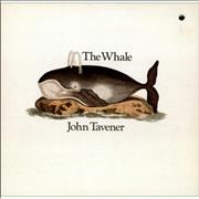 Click here for more info about 'John Tavener - The Whale - punch-hole'