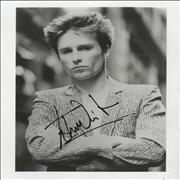 Click here for more info about 'John Waite - Autographed Publicity Photograph'