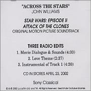 Click here for more info about 'John Williams (Composer) - Across The Stars'