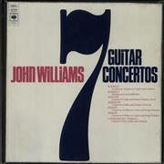 Click here for more info about 'John Williams (Guitarist) - 7 Guitar Concertos - EX'