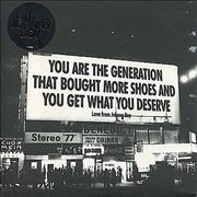 Click here for more info about 'Johnny Boy - You Are The Generation That Bought More Shoes And You Get...'