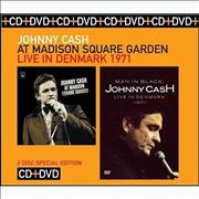 Click here for more info about 'Johnny Cash - At Madison Square Garden / Live In Denmark 1971'