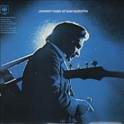 Johnny Cash At San Quentin - Stereo - EX UK vinyl LP