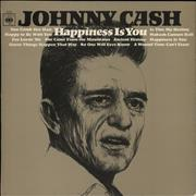Click here for more info about 'Johnny Cash - Happiness Is You - 1st Mono'
