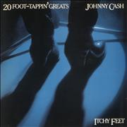 Johnny Cash Itchy Feet - 20 Foot-Tappin' Greats UK vinyl LP
