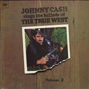 Johnny Cash Johnny Cash Sings The Ballads Of The True West Volume 2 UK vinyl LP