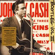 Click here for more info about 'Johnny Cash - Live Around The World: Bootleg Vol. 3 - 180gm Clear Vinyl + Numbered'