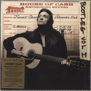 Click here for more info about 'Johnny Cash - Personal File: Bootleg Vol. 1 - 180gm Clear Vinyl + Numbered'