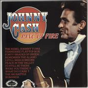 Johnny Cash Ring Of Fire UK vinyl LP