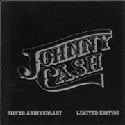Johnny Cash Silver Anniversary Limited Edition UK tour programme