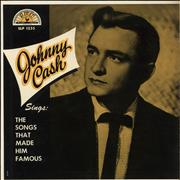 Click here for more info about 'Johnny Cash - Sings The Songs That Made Him Famous - 1st'