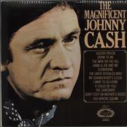 Johnny Cash The Magnificent Johnny Cash UK vinyl LP