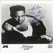 Click here for more info about 'Johnny Gill - Autographed Photo'