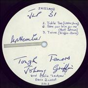 Click here for more info about 'Johnny Griffin & Eddie 'Lockjaw' Davis - Tough Tenors - Test Pressing'