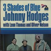 Click here for more info about 'Johnny Hodges - 3 Shades Of Blues - 1st'