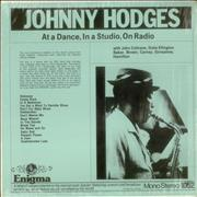 Click here for more info about 'Johnny Hodges - At A Dance, In a Studio, On Radio'