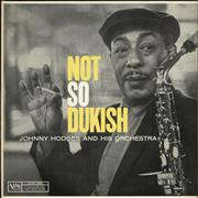 Click here for more info about 'Johnny Hodges - Not So Dukish'