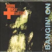 Click here for more info about 'Johnny Marr - Bangin' On'