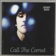 Click here for more info about 'Johnny Marr - Call The Comet - Silver Vinyl + Autographed Art Print'