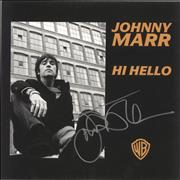 Click here for more info about 'Johnny Marr - Hi Hello - Numbered - Autographed'