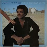 Click here for more info about 'Johnny Nash - Let's Go Dancing - Gold promo stamped'