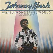 Click here for more info about 'Johnny Nash - What A Wonderful World - Promo stickered'