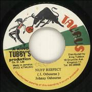 Click here for more info about 'Johnny Osbourne - Nuff Respect'