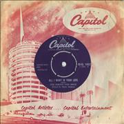 Click here for more info about 'Johnny Otis - All I Want Is Your Love'