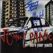 Johnny Panic Burn You Youth - Autographed UK CD single