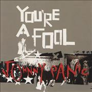 Johnny Panic You're A Fool UK CD single Promo