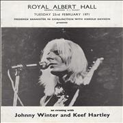 Click here for more info about 'Johnny Winter - Royal Albert Hall'