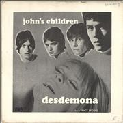 Click here for more info about 'John's Children - Desdemona - P/S - VG'