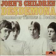 Click here for more info about 'John's Children - Desdemona'