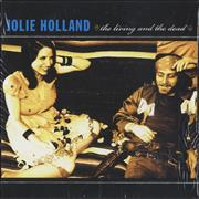 Jolie Holland The Living And The Dead USA CD album Promo