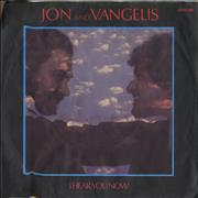Click here for more info about 'Jon & Vangelis - I Hear You Now - Injection label'