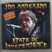Click here for more info about 'Jon Anderson - State Of Independence'