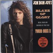 Click here for more info about 'Jon Bon Jovi - Blaze Of Glory - Solid'