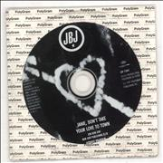 Jon Bon Jovi Janie Don't Take Your Love To Town Mexico CD single Promo