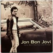 Click here for more info about 'Jon Bon Jovi - Janie Don't Take Your Love To Town'