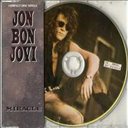 Jon Bon Jovi Miracle UK CD single