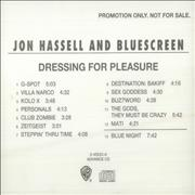 Click here for more info about 'Jon Hassell - Dressing For Pleasure'