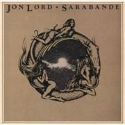Jon Lord Sarabande - Ex UK vinyl LP
