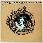 Jon Lord Sarabande UK vinyl LP