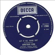 Click here for more info about 'Jonathan King - Let It All Hang Out'