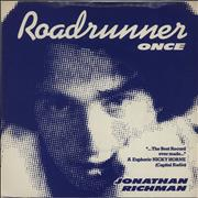 Click here for more info about 'Jonathan Richman & The Modern Lovers - Roadrunner - P/s'