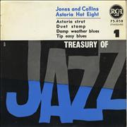 Click here for more info about 'Jones And Collins Astoria Hot Eight - Treasury Of Jazz No. 1'