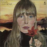 Joni Mitchell Clouds - 2nd UK vinyl LP