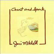 Joni Mitchell Court And Spark Germany vinyl LP