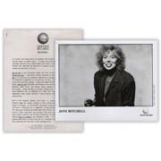 Joni Mitchell Dog Eat Dog USA press pack Promo