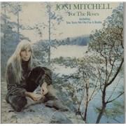 Joni Mitchell For The Roses - 2nd Australia vinyl LP